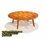 Coffee Table Unik Model Meja Sofa Antik