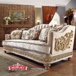 Kursi Sofa Mewah Klasik Living Room Set Sofa