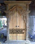 Pintu Gebyok Jati Model Pintu Rumah Klasik