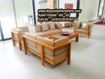 Kursi Sofa Modern Kayu Jati