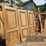 Pintu Rumah Minimalis Model Pintu Rumah Kayu Jati