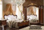 Tempat Tidur Klasik Ukiran Tempat Tidur Mewah Terbaru