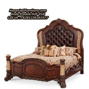 Tempat Tidur Ukir Mewah Tempat Tidur Klasik Jati