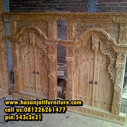 Jendela Klasik Hasan Jati Furniture