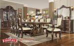Meja Makan Jati Terbaru Dining Room Classic Mewah