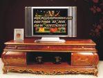 Meja Tv Jati Ukiran Model Bufet Tv Classic