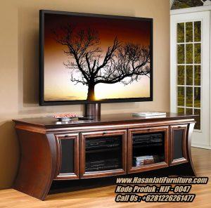 Meja Tv Jati Jepara Model Bufet Tv Minimalis