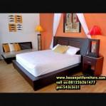 Model Tempat Tidur Minimalis Kayu Jati