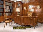 Meja kantor Jati Klasik