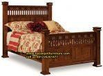 Tempat Tidur Anak Classic Minimalis Ranjang Tidur Anak Jati