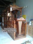 Mimbar Masjid Ukir Terbaru Podium Masjid Agung