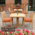 Meja Cafe Jati Classic Meja Resto Klasik
