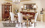 Meja Makan Classic Jati Dining Set Luxury Terbaru