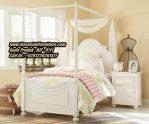 Tempat Tidur Anak Klasik Modern Dipan Anak Kanopi