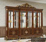 Harga Lemari Hias Jati New Design Display Cabinet Classic