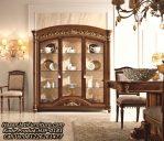 New Design Lemari Hias Jati Display Cabinet Mewah