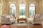 Kursi Sofa Mewah Klasik Living Room Set Sofa