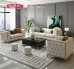 Kursi Sofa Mewah Modern New Design Living Minimalis Modern