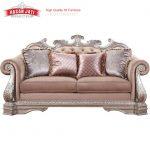 Kursi Sofa Mewah Ukiran Model Sofa Ruang Tamu