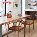 Desain Kursi Cafe Jati Unik Model Minimalis